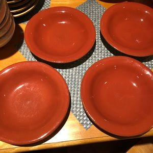 Vietri Shallow Soup Bowls (4)